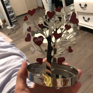 """Love"" Yankee Candle CANDLE HOLDER"